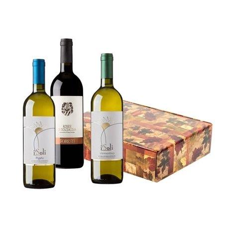 Geschenkkorb mit Wein Ligurien, Italienisch wein