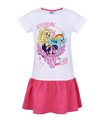 My little Pony Kleid, weiß-pink, Gr. 92-128 Größe 92