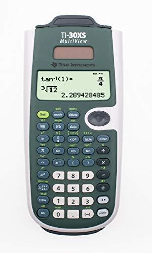 TI-30 X S MultiView Texas Instruments Taschenrechner mit neuem Darstellungsformat, Solarversion