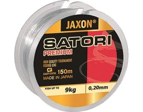 Jaxon Angelschnur Satori Premium Spule 150M 0,10mm-0,35mm Monofile Schnur (0,10mm / 2kg)