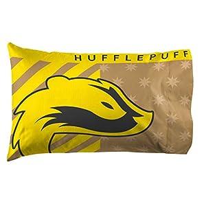Jay Franco Harry Potter Hufflepuff Pride - Funda de almohada reversible para niños (producto oficial de Harry Potter) 13