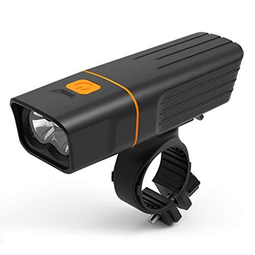 Macabolo Fietslamp, USB-oplaadbaar, T6 LED-fiets, koplamp, mountainbike, fietslicht, met 3 verlichtingsmodi A10.