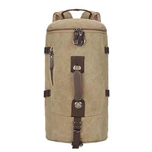 Heren Rugzak Reistas Sporttas Weekend Tas Handtassen Canvas Retro Tas