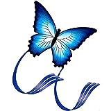 AISE Cometa al Aire Libre para niños y Adultos, Cometas de Cola Larga, Hermosos Juguetes de Vuelo de Cometas de Mariposas, diversión al Aire Libre Padres niños interactivos niños Hermosas Cometas