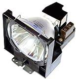 Supermait LV-LP06 / 4642A001AA Bulbo Lámpara de repuesto para proyector con carcasa Compatible con CANON LV-7525 / LV-7525E / LV-7535 / LV-7535U / LV7525 / LV7525E / LV7535 / LV7535U