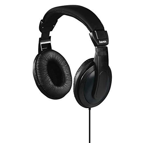 Ansim Over-Ear Stereo Neodym-Kopfhörer mit Lautstärkeregler und 6 m langem Kabel und 3,5 mm Adapter