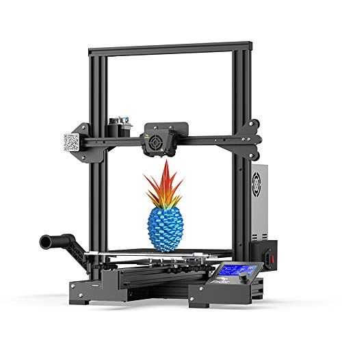 Creality Ender 3 Max 3D Printer 300 x 300 x 340mm, 2020 Newest All Metal FDM 3D Printer with Larger Glass Bed Silent Mainboard All Metal Extruder Smart Sensor