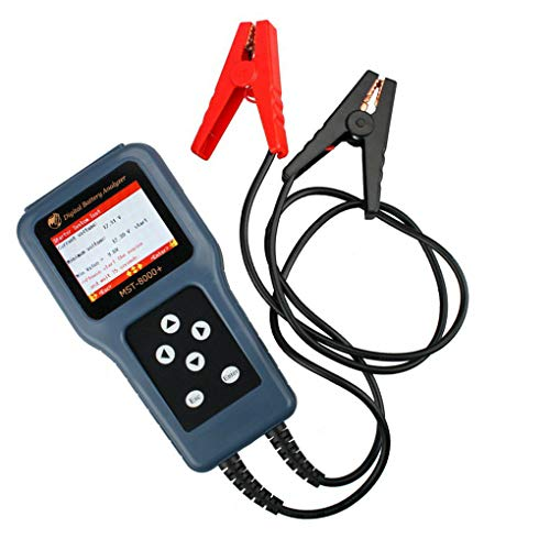 12V 24V Auto Digital Battery Analyzer Auto Motor Scooter Accuspanning Prestatietester