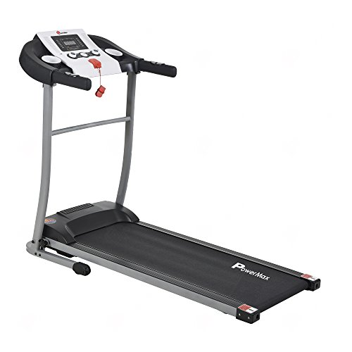 PowerMax Fitness TDM-98 1.75HP (3.5HP Peak) Motorized Treadmill with Free Installation Assistance, Home Use & Automatic BMI Calc.