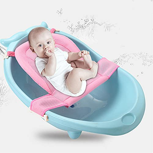 Infant Baby Bath Pad Non Slip Bath Seat Net for Babies Infant Supportive...