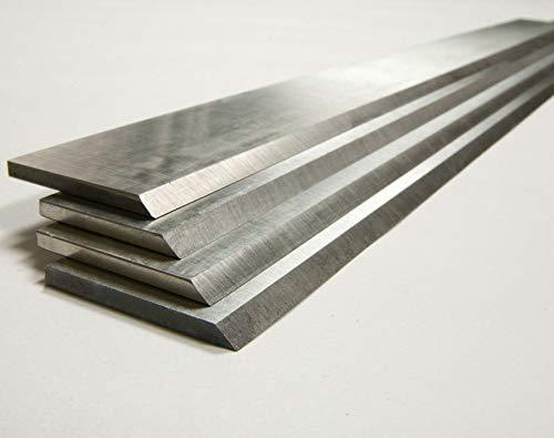 2x Hobelmesser/Streifenhobelmesser 18% HSS 260mm-640mm 20-35mm (610mm x 30mm x 3mm)