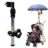 Baby Stroller Umbrella Clamp, 360°...