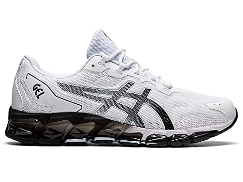 ASICS Men's Gel-Quantum 360 6 Shoes, 12, White/Black