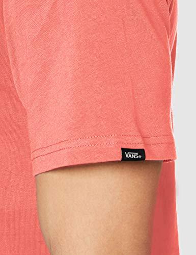 Vans Classic T-Shirt, Rosa (Calypso Coral Snq), Medium Uomo