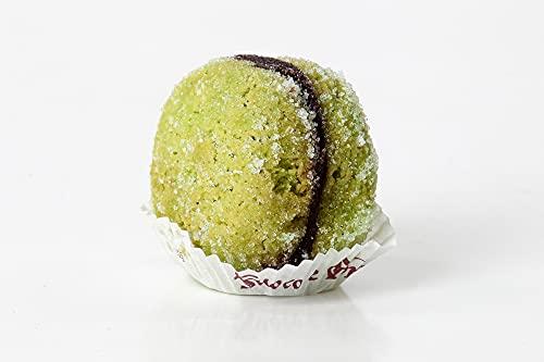Galletas de menta, masa quebrada y licor, elaboradas a mano en Italia, paquete de 2 x 400 g - Total 800 g
