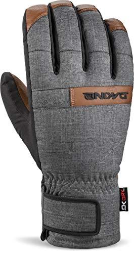 DAKINE Nova Short Glove Gants Homme, Carbon, FR Unique (Taille Fabricant : M)