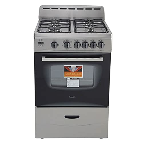 Avanti GR2416CSS 24' Gas Range with Sealed Burners, in...