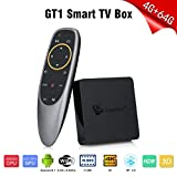 Beelink GT1 TV Box Android 8.1 S905X2 4Go + 64Go Carte GPU Arm Dvalin MP2 K Double WiFi BT Mini Smart TV Box