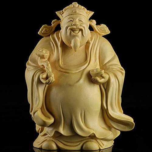 JYKFJ Estatuas Fu Lu Shou para decoración del hogar, Juegos de Tres Dioses, estatuilla, Escultura, Oficina, Sala de Estar, decoración, cumpleaños