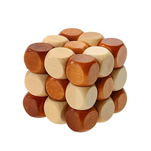 Inicio decoración DIY Dragón madera cola cubo mágico