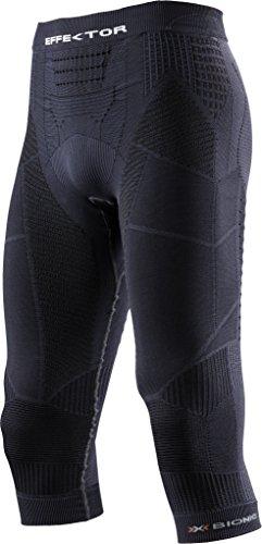 X Bionic Trail Running Effektor Power OW O100557, Pantalone Uomo, Charcoal/Nero, XL