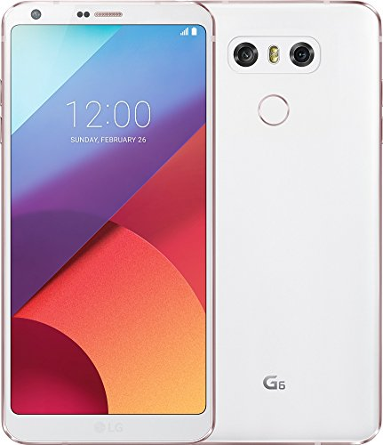LG G6 Smartphone (14,47 cm (5,7 Zoll) Display, 32 GB Speicher, Android 7.0) Weiß