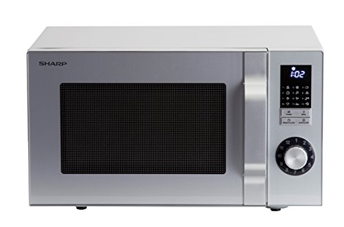 Sharp R-344S Micro-ondes Solo 25 litres - Argent