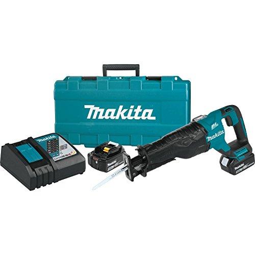 Makita XRJ05T 18V LXT Lithium-Ion Brushless Cordless Recipro Saw Kit (5.0Ah)