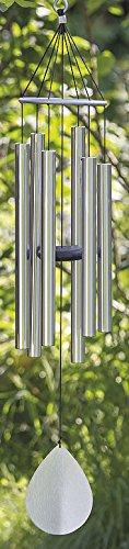 Carillon Harmony Aluminium Argent H90 cm