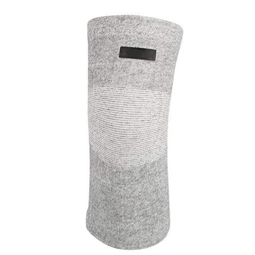 Voluxe Equipo de protección Duradero Rodillera de tamaño Libre, Rodillera de Fibra de carbón de bambú, Rodillera elástica Ejercicio Profesional para fútbol al Aire Libre Baloncesto