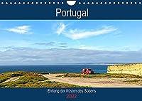 Portugal - Entlang der Kuesten des Suedens (Wandkalender 2022 DIN A4 quer): Impressionen entlang der Kueste von Peniche bis zur Algarve (Geburtstagskalender, 14 Seiten )