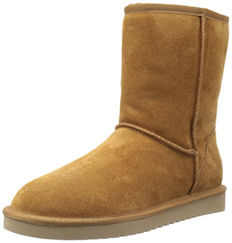 Koolaburra by UGG womens Koola Short Fashion Boot, Chestnut, 8 US