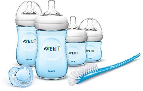 Philips Avent Natural Geschenkset für Neugeborene, Blau