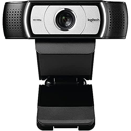 Logitech C930E Business Webcam HD, Videochiamata Full HD 1080p, Progettata Per Aziende, Campo...