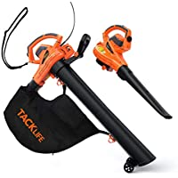 Tacklife KABV35A 3-in-1 Leaf Blower/Vacuum/Mulcher with 45L Collection Bag