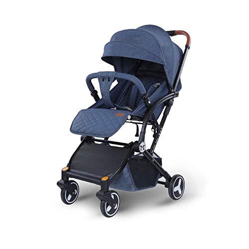 Kinderwagen, ultracompacte en lichte kinderwagen van de geboorte tot 15 kg, eenvoudig op te vouwen, 0 maanden - 3,5 jaar, met ligpositie, voor baby's