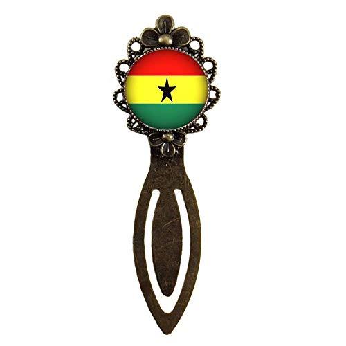 Xubu Bladwijzers voor Lezen Liefhebbers,Ghana Vlag Bladwijzers,Nationale Vlag Bladwijzers