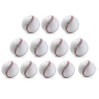 12個入り硬式球硬球練習用野球硬式ボール練習球訳ありバッティング練習 キャッチボールトスバッティング