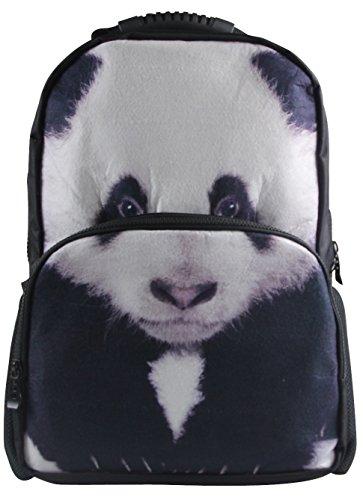 Animal Face 3D Animals Panda Backpack 3D Deep Stereographic Felt Fabric