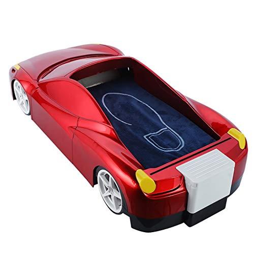 ZYFXZ Dispensador de Cubierta de Zapatos automático - Diseño Exterior de automóviles - Película de Zapatos Gratis (Aproximadamente 600 Uso) para hogar, Tienda, Oficina, artículos para el hogar