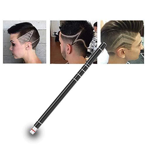 Hair Tattoo Trim Hair Razor Pen For Hair Design Stainless Steel Face Shaping Device, Engraved Pen/ 10 Blades/Tweezer Hair Styling Eyebrows Beards Razor Tool
