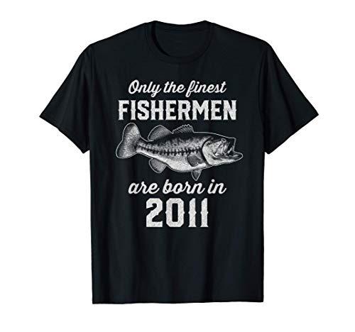 Gift for 10 Year Old: Fishing Fisherman 2011 10th Birthday T-Shirt