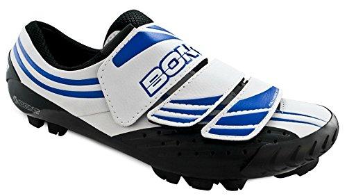 BONT Bont MTB-Two Weiß/Blau Schuhe Größe 40