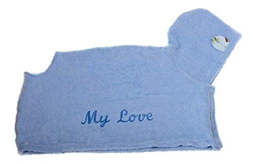 MICHI badjas My Love, M, blauw