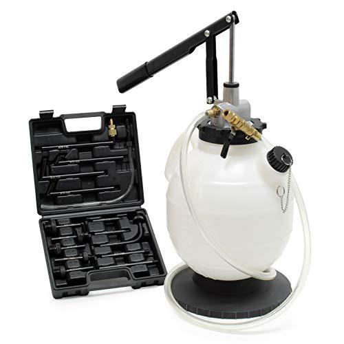Getriebeöl Einfüllgerät 7L mit Handpumpe inkl. 15 ATF-Adapter u.a. für DSG Getriebe, Ölwechsel Gerät