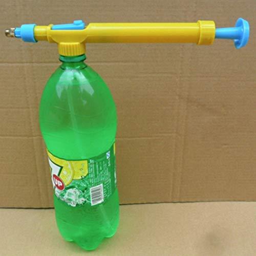Nologo WENJUNBAO Presión Mini Botellas Jugo Interfaz de plástico Carro Pistola de Agua de la Cabeza del rociador de Pesticidas pulverizador for el jardín Bonsai pulverización de Agua