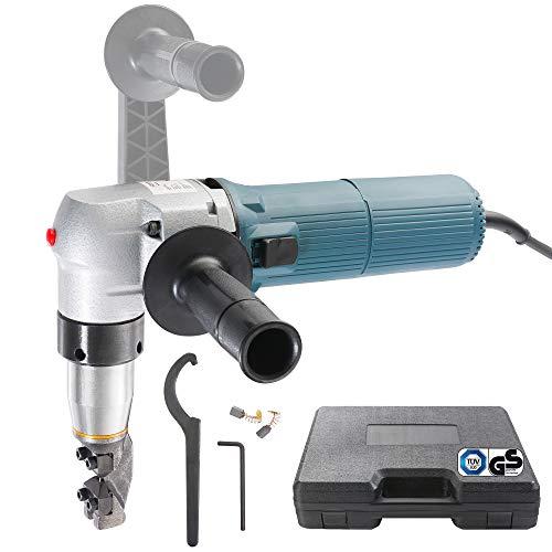 Arebos Blechknabber Blechnibbler 625 Watt/Schnittleistung 4 mm/Hubzahl: 1000/min/Inklusive Zubehör/GS geprüft von TÜV Süd