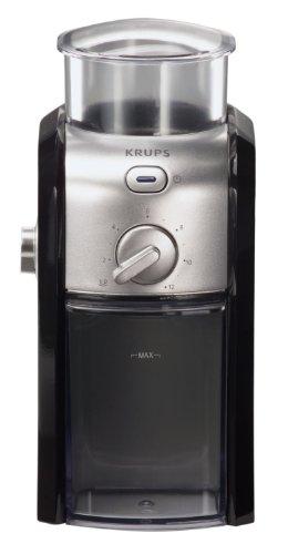 KRUPS 1500813240 GVX212 Coffee Grinder, 1, Black and Metal