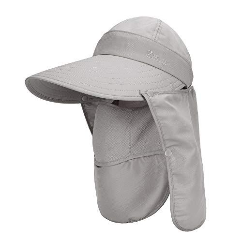 MK Matt KEELY Unisex 3 en 1 sombrero multifuncional, sombrero de sol...