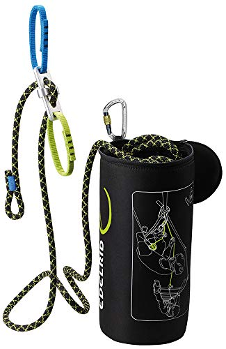 Edelrid Via Ferrata Belay Kit II - Kit vía ferrata - 25m rojo/negro 2018